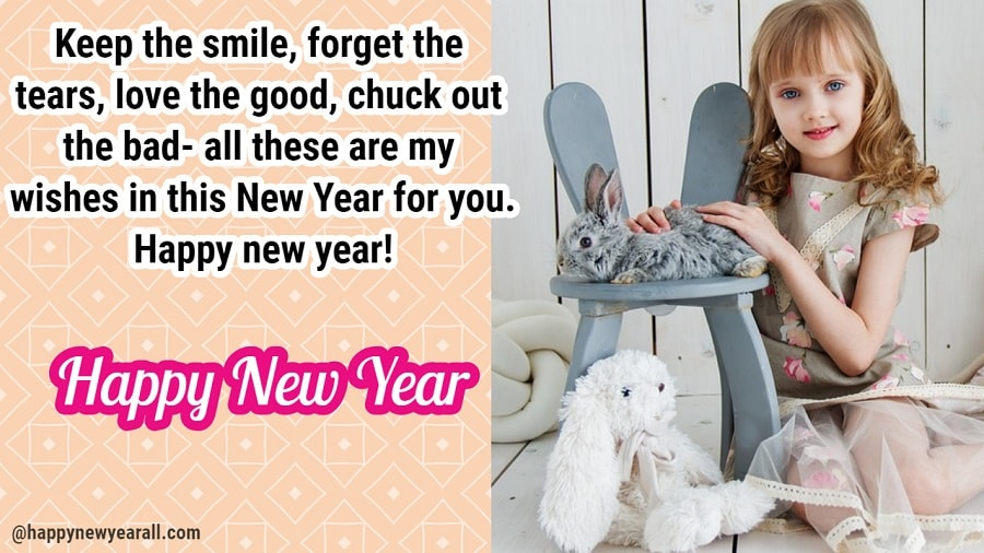 Happy new year cute messages