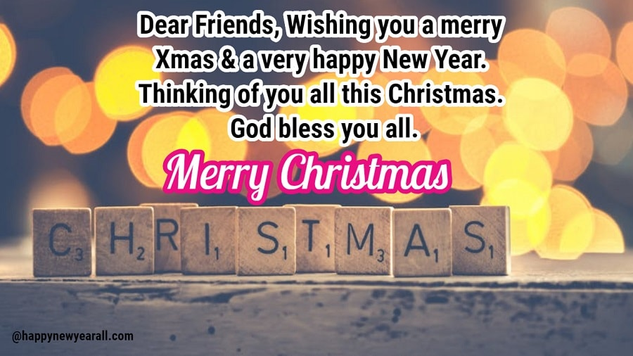 Merry Christmas messages to post on facebook