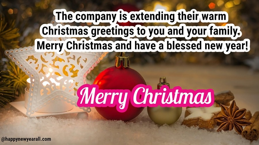 Merry Happy Christmas Wishes Messages for Colleagues - Happy New ...