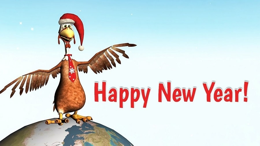 Cute funny new year images
