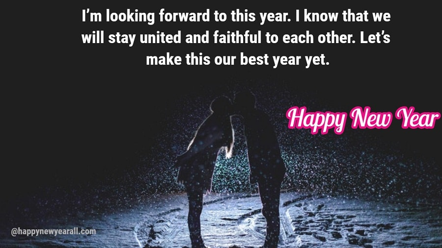 Happy New Year Quotes 2020 for Boyfriend