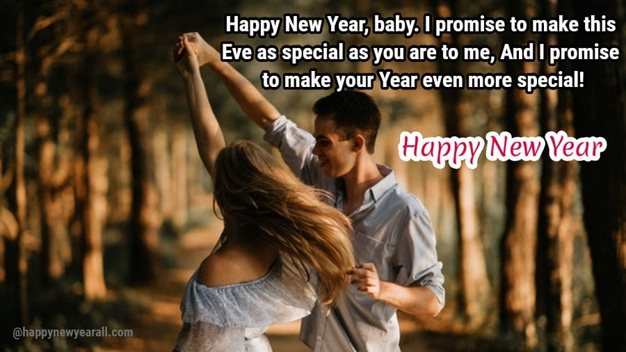 romantic new year message 2019