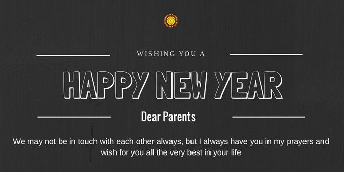 new year greetings for parents