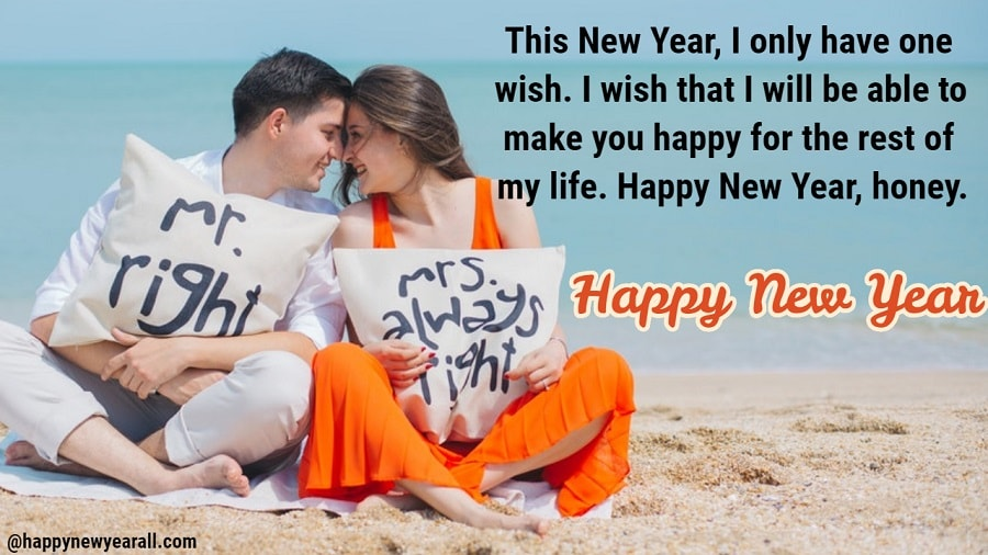 happy new year quotes to girlfriend