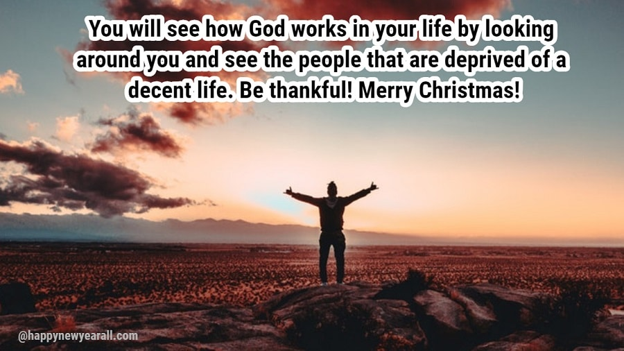 Inspirational Merry Christmas Messages Wishes