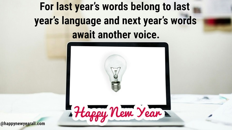 Inspirational New Year Quotes with Images