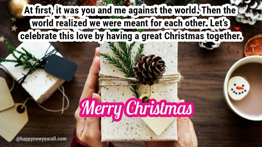 Sweet Christmas Wishes Messages for Someone Special