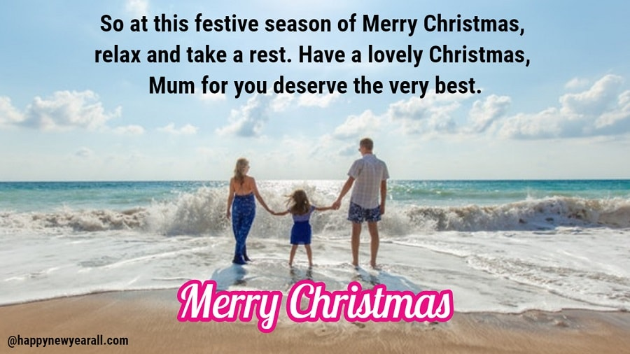 Happy Christmas Messages for Parents