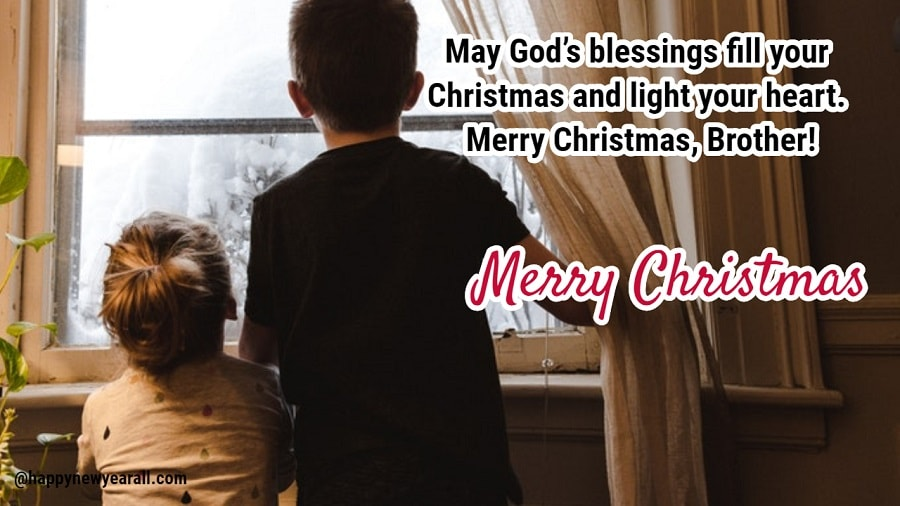 Merry Christmas Wishes Messages For Brother 2019