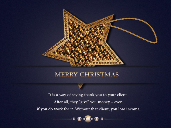 merry christmas messages for clients