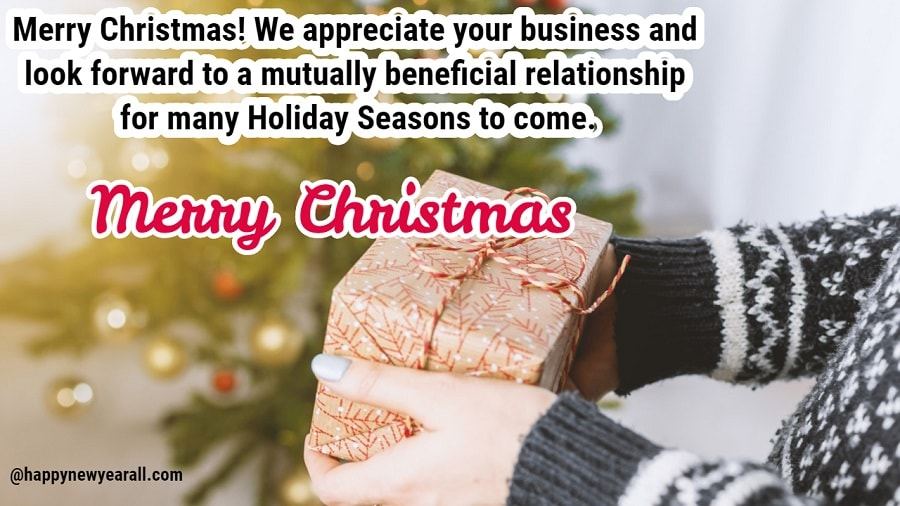 Merry Christmas From Business To Customers 2020 135+] Professional Merry Christmas Wishes for Business Clients