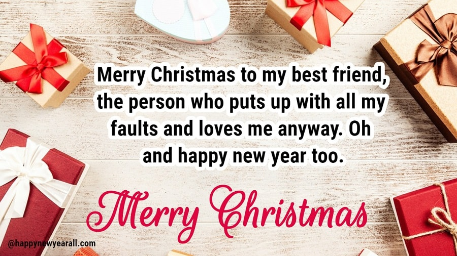 Merry Christmas Wishes to my Friends and Family