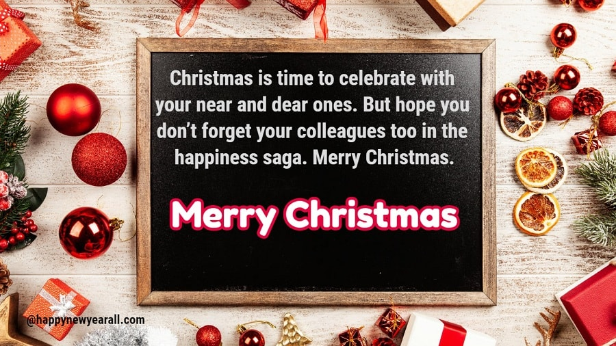 Merry Christmas messages for Employees