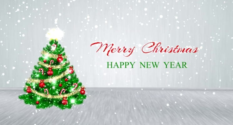 Merry Christmas 2018 and Happy New Year 2019 Wishes Greetings Quotes ...