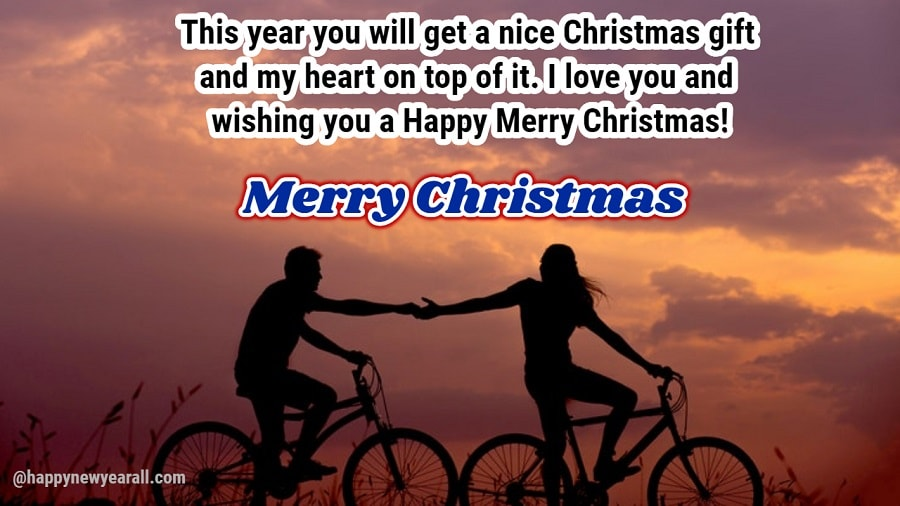 Happy Christmas 2018 Messages for Girlfriend