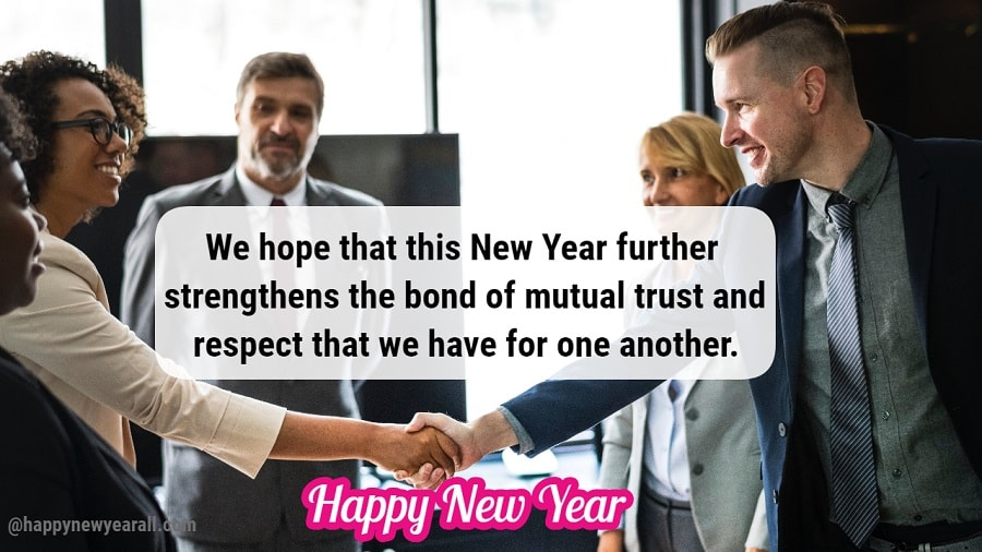 Happy New Year Messages for Client