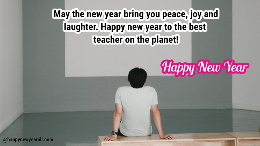 New Year Sms for Teacher