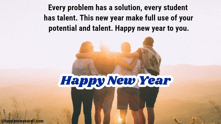 Inspirational New Year Messages for Students