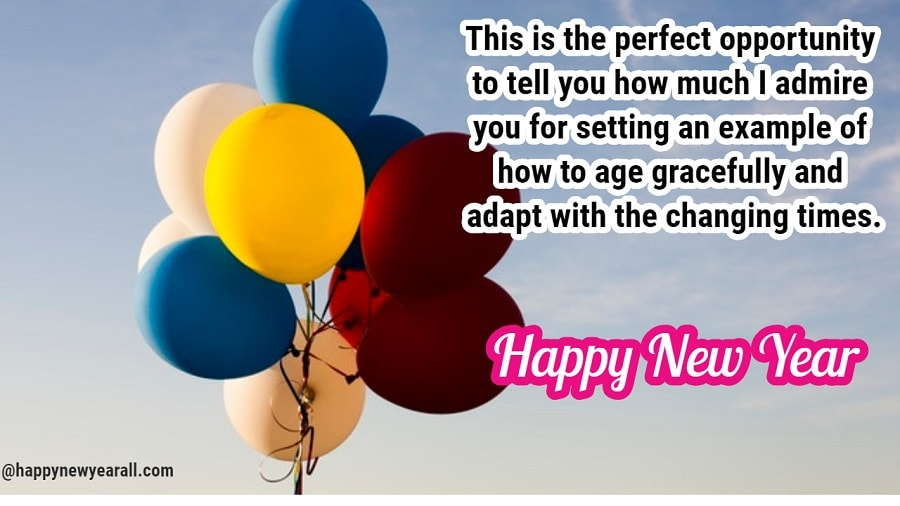 New Year Greetings for Elders
