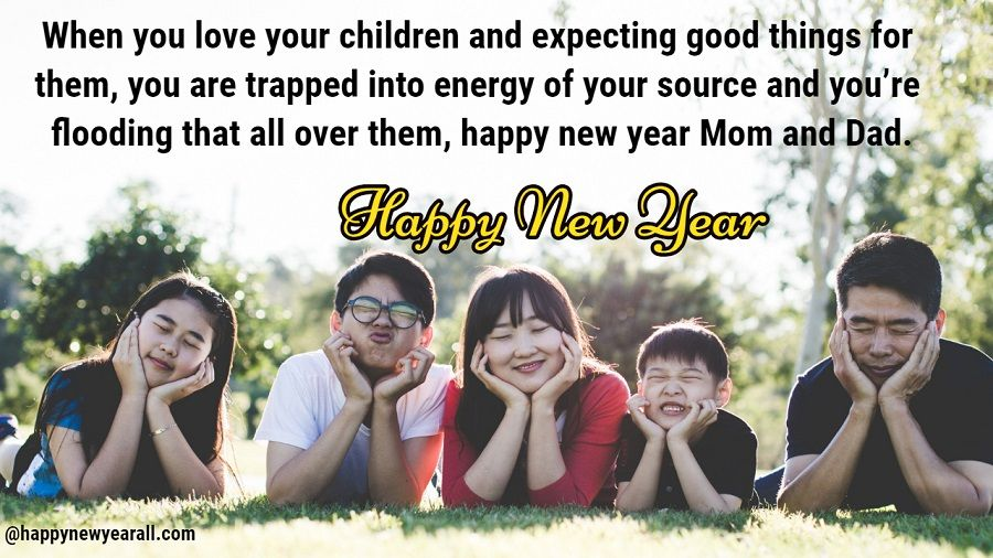 new year wishes for parents 2019