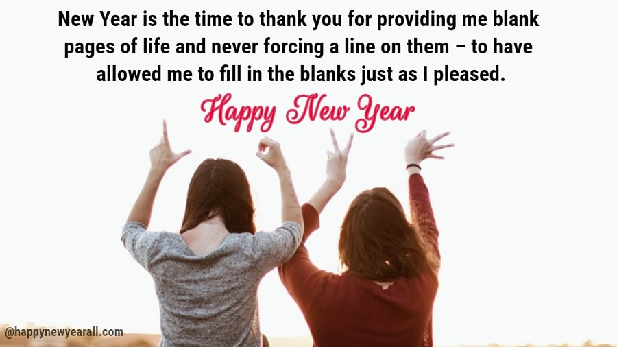 Happy New Year Wishes for Elders