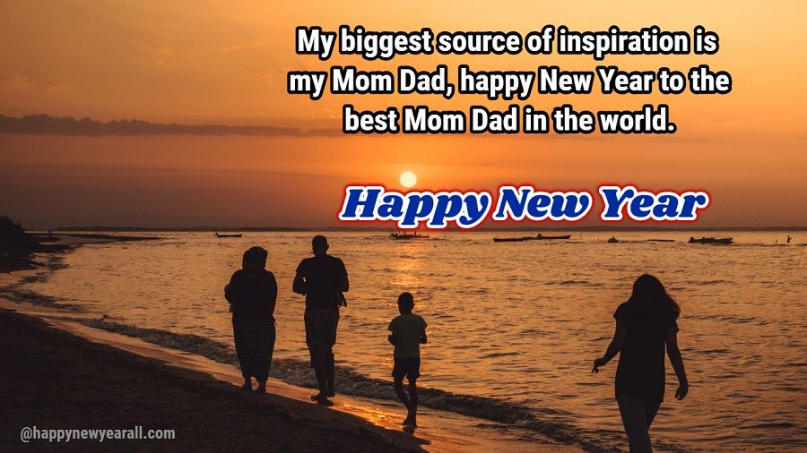 new year wishes messages for parents