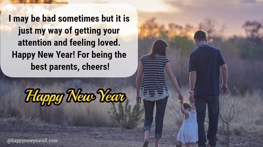 new year wishes for parents