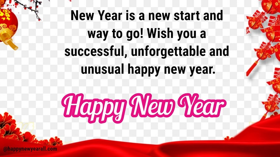 New year wishes for fb