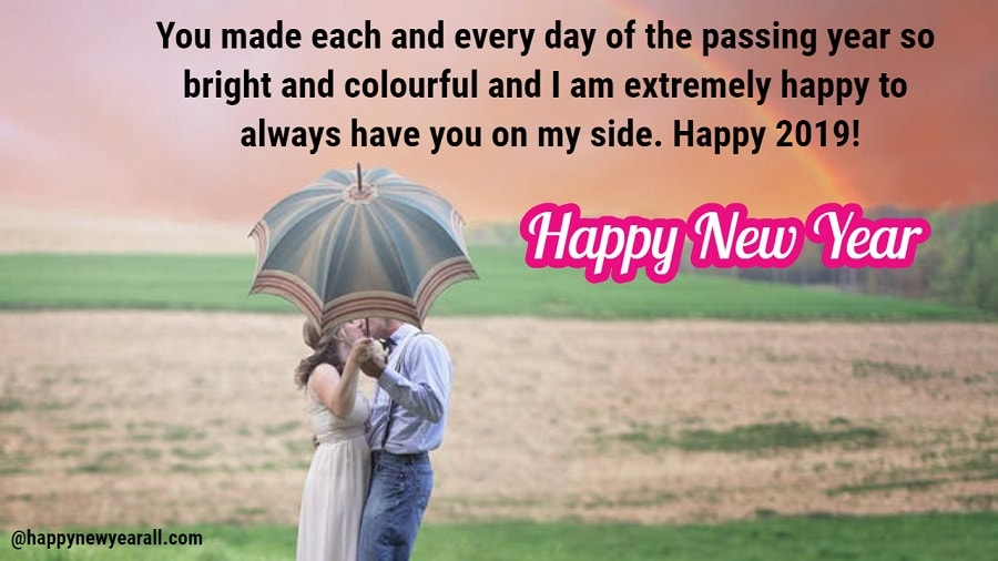 Romantic new year quotes for him and her