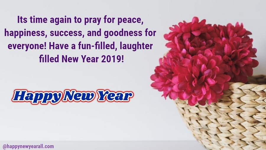 Happy New Year Quotes Cards 2019