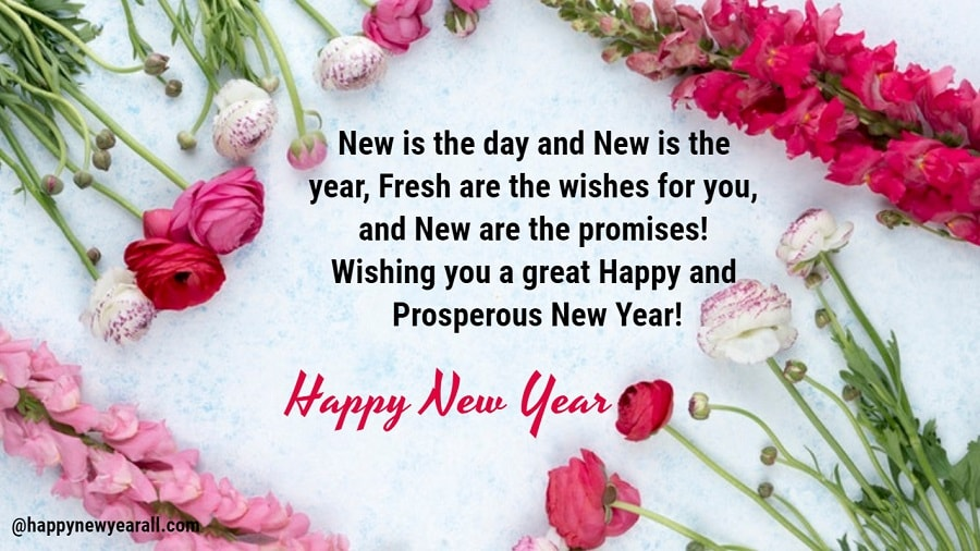 Happy new year quotes cards