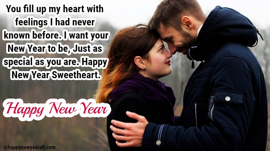 Happy new year quotes for girlfriend