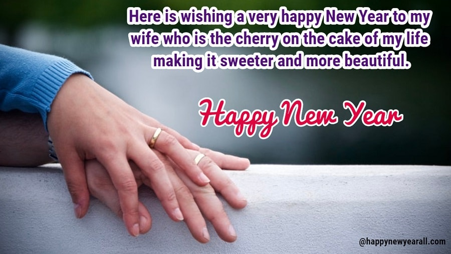 New year sayings for my husband
