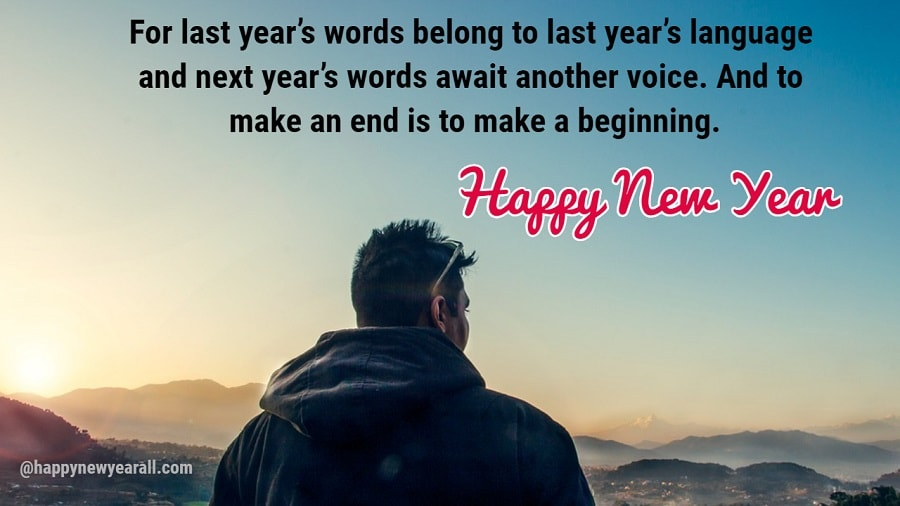 Happy New Year Quotes with Images for Facebook