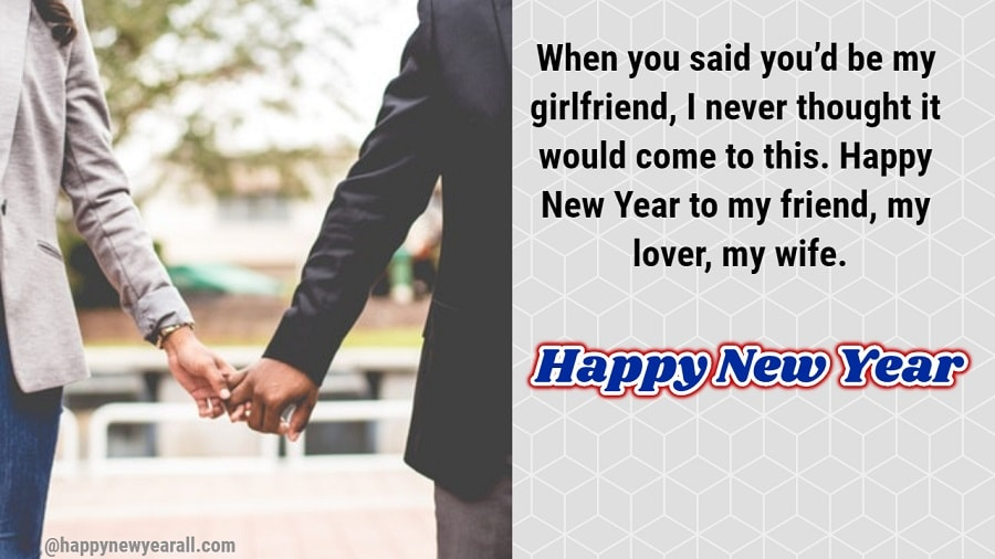 Romantic New Year Quotes for Husband