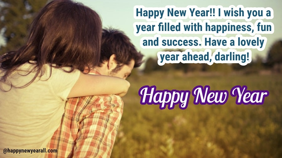 Romantic New Year Quotes for Boyfriend