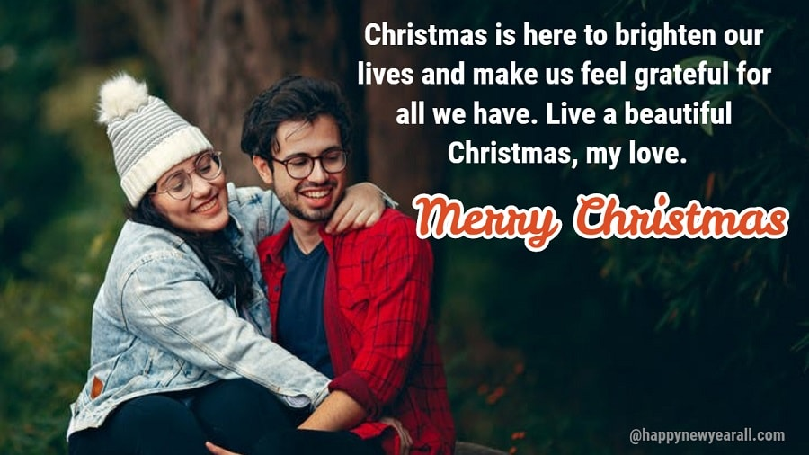 Christmas greetings for boyfriend