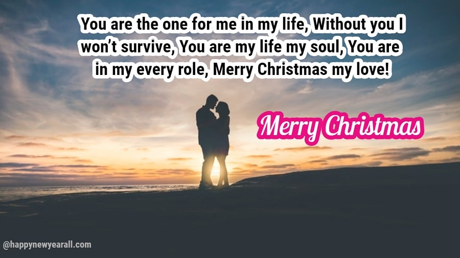 Happy Christmas Love Messages for Girlfriend