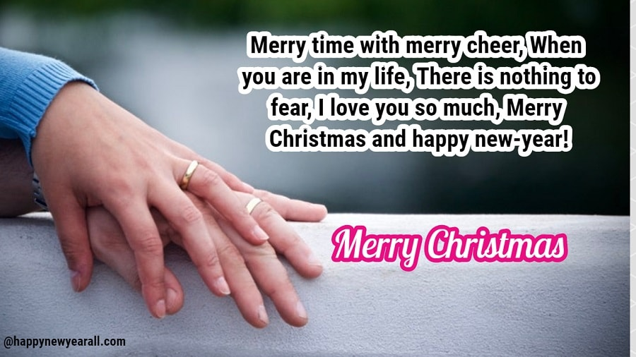 Merry Christmas Messages for Wife