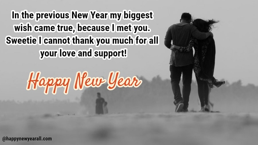 150 Romantic Happy New Year 2019 Quotes For Girlfriend From