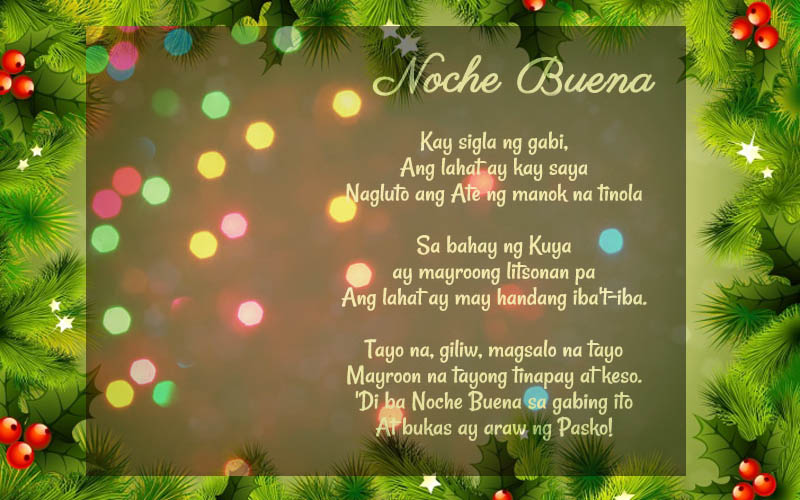 Tagalog Christmas Messages