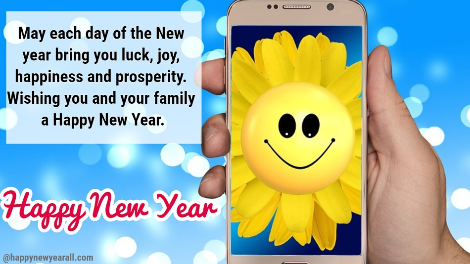Happy new year messages for friends and family