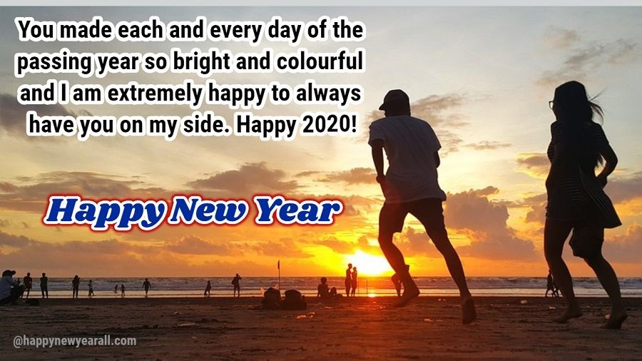 Happy New Year Wishes for Ex