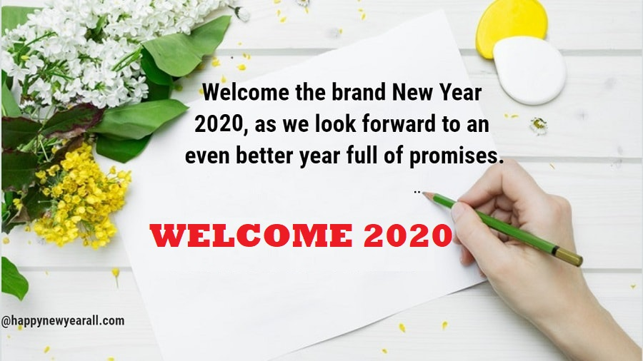 Good Bye Bye 2019 Welcome 2020 Quotes Wishes and Images Free Downloadm (bye 2019 and welcome 2020)
