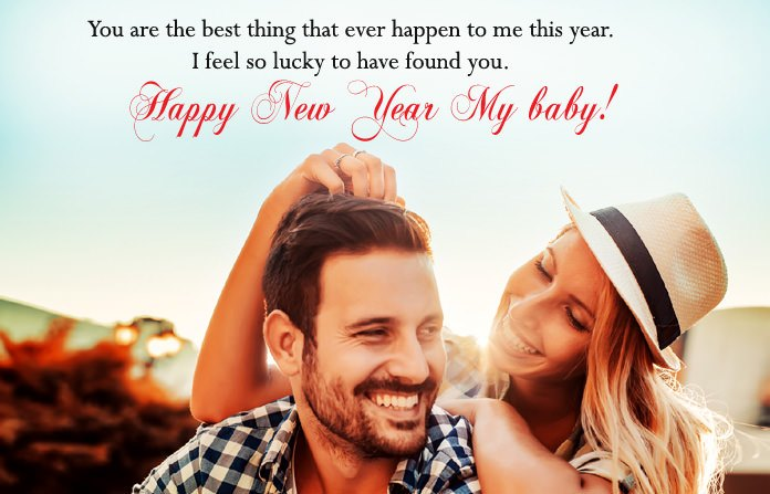 New year sms for lover