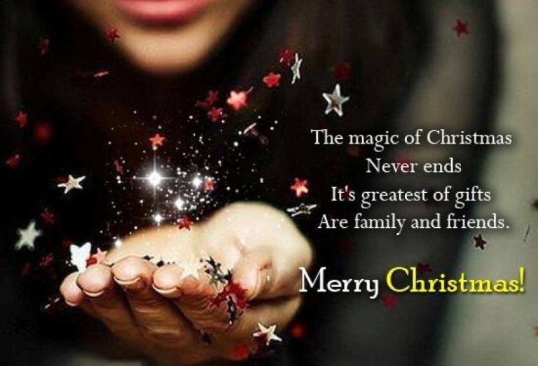 Merry Christmas Messages 2018