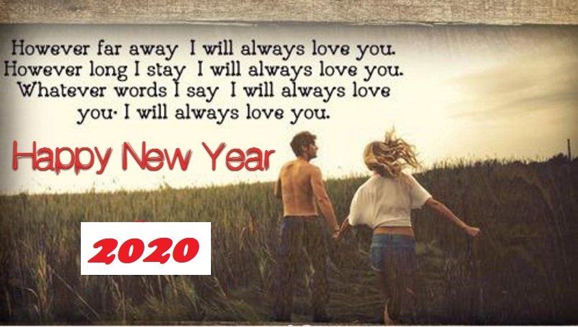 New Year 2020 Wishes for Ex