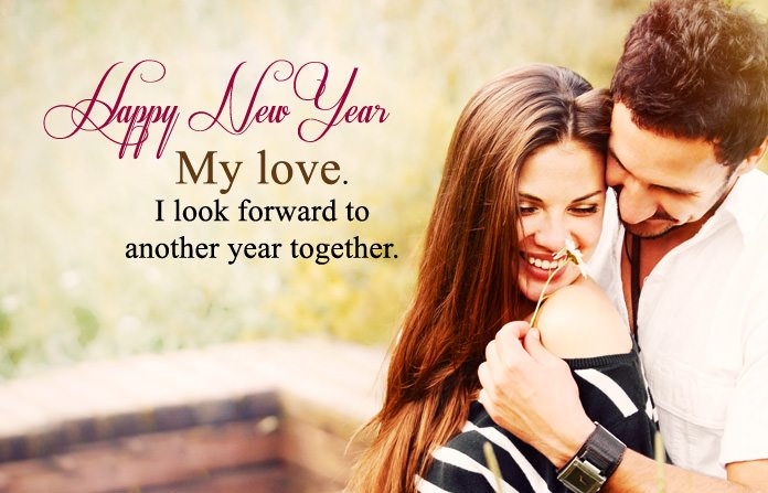 New year sms for girlfriend