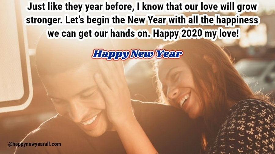 New year quotes for boyfriend