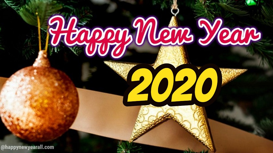 New Year Wishes 2020 Wallpapers